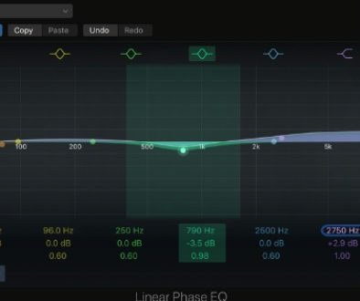 linear phase eq when to use