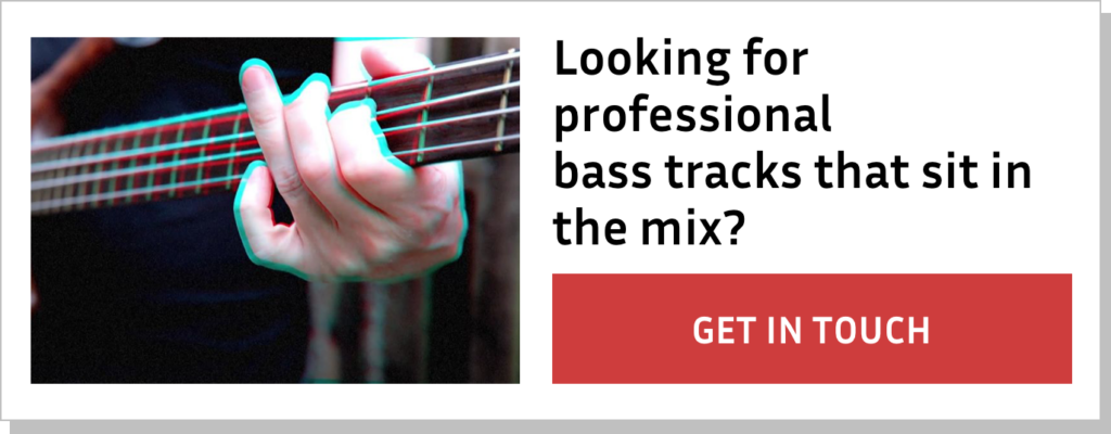 Looking for professional bass tracks that sit in the mix? Get in touch!