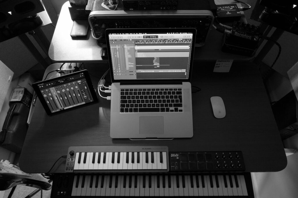 Logic Pro X session, by Minutes to Midnight